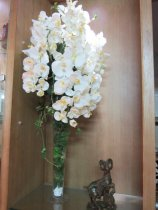 Shop Hoa  Trang Trí   - Bình Hoa lan trắng