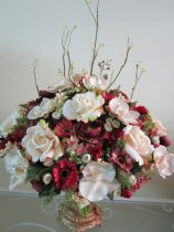 Shop Hoa  Trang Trí   - Bình sứ trắng-cao 45cm